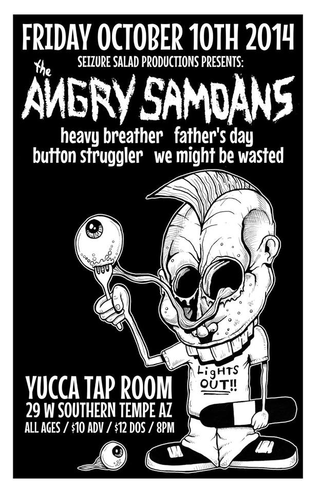 Angry Samoans at The Yucca Tap Room