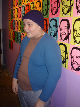 Ryan Avery and his series of silkscreened prints of Wayne Michael Reich.