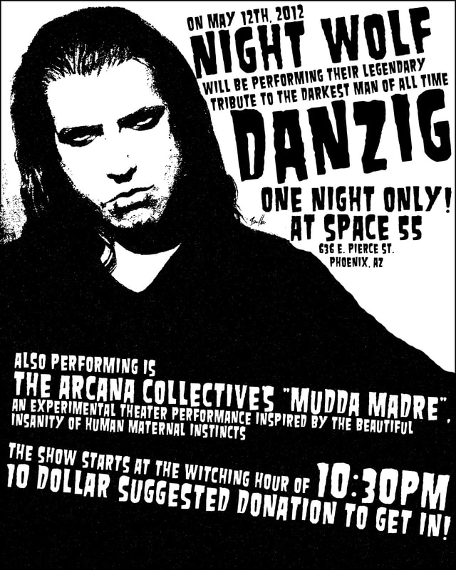 Night Wolf Tribute To Danzig