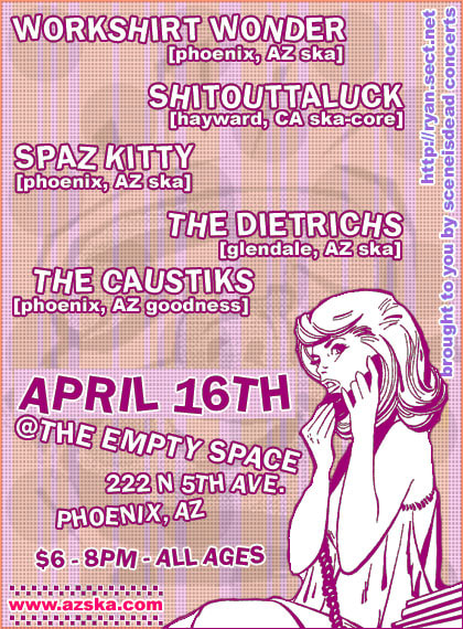 Shitouttaluck at The Empty Space