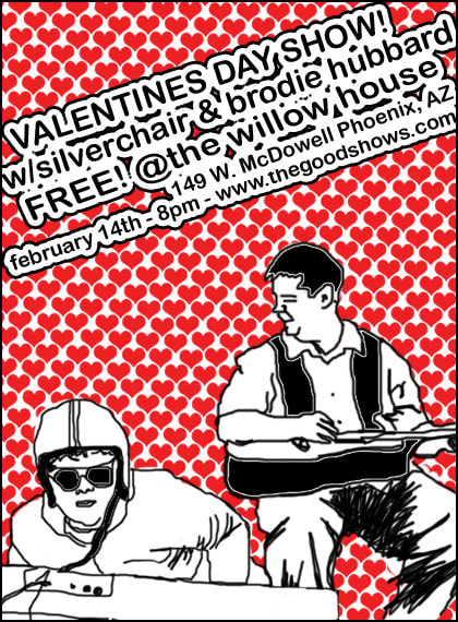 Valentines Day Show at The Willow House